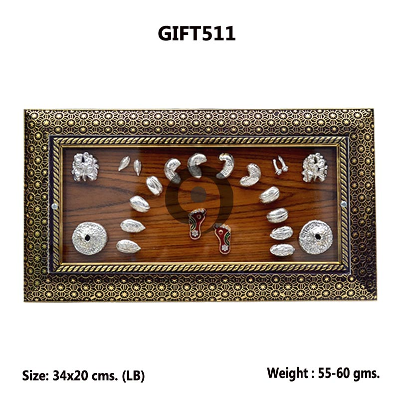 DRY FRUITS WITH WOODEN FRAME 60